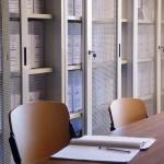 particolare sala consultazione