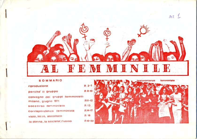 al femminile 1972