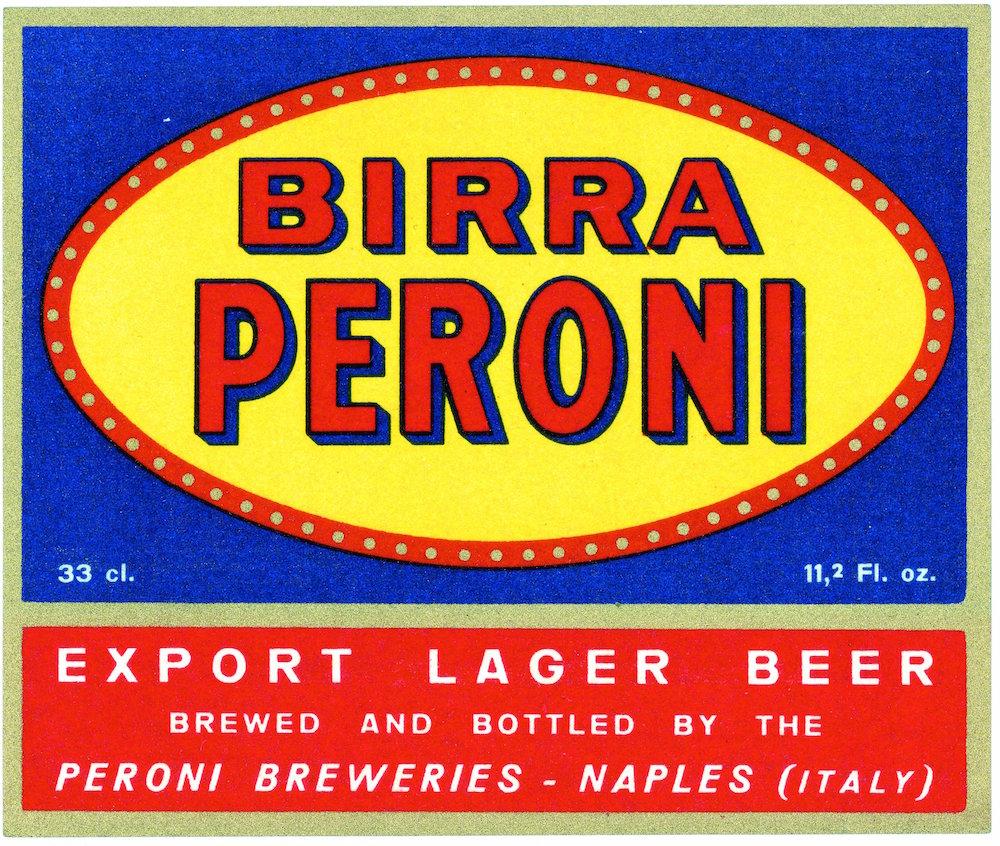 Archivio Storico Birra Peroni_Fondo iconografico_Etichetta anni Trenta Birra Peroni per l'esportazione