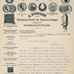 Fornitori macchinario 1908